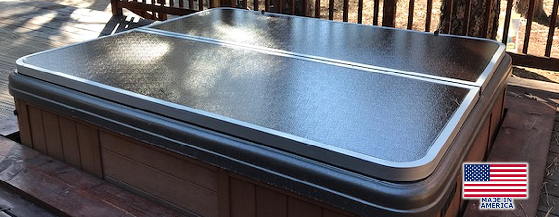 Hard Hot Tub Covers Aluminum Winter Spa Cover Lifters